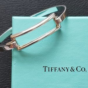 🌟Rare Retired Tiffany & Co. Rectangle Bangle